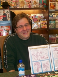 David at Barnes & Noble Pittsford, NY