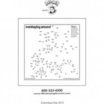 Free 2013 Columbus Day Dot-to-Dot puzzle