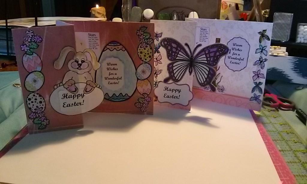 Easter cards samples