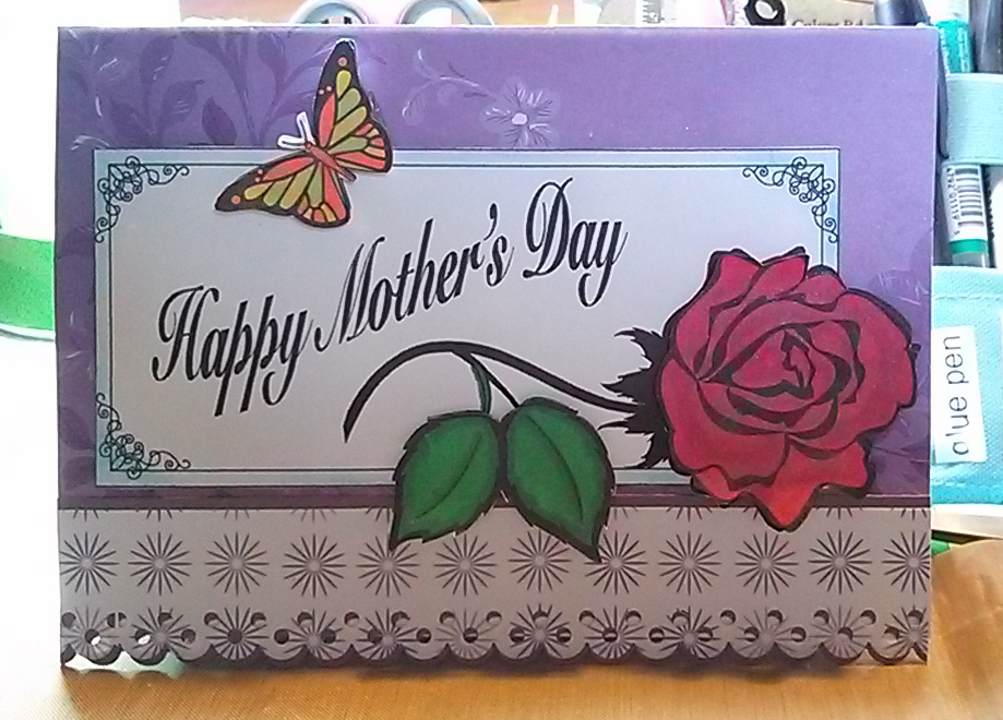 u00bb mother u2019s day card sample
