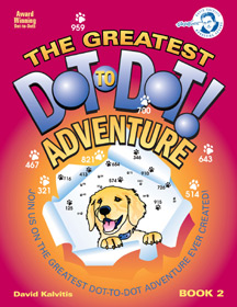 The Greatest Dot-to-Dot Adventure: Book 2 Front Cover
