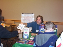 David Kalvitis at Rochester Children's Book Fair