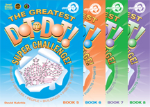 The Greatest Dot-to-Dot Super Challenge Book Set