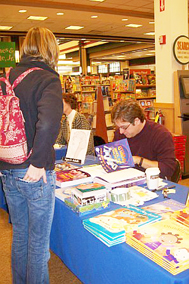 David at B&N Pittsford