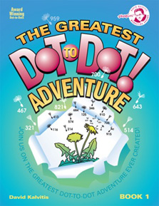 The Greatest Dot-to-Dot Adventure Book 1 Front Cover