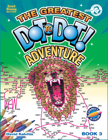 The Greatest Dot-to-Dot Adventure Book 3 Front Cover