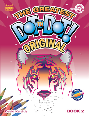 The Greatest Dot-to-Dot Original Book in the World: Book 2 Front Cover
