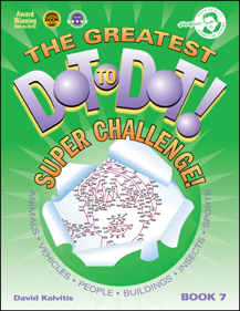 The Greatest Dot-to-Dot Super Challenge Book 7 New Front Cover