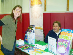 David Kalvitis at Syracuse Children's Book Fest with Amy Emm
